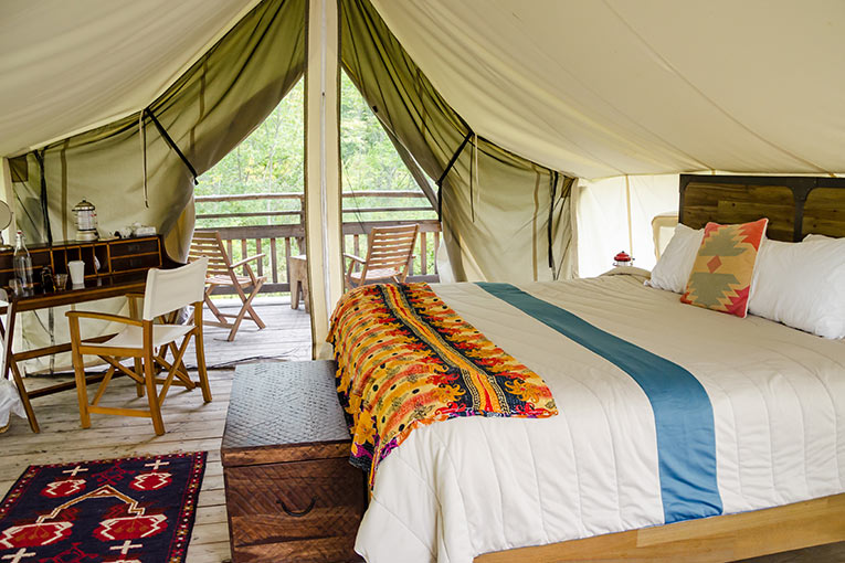 Resort-Style Glamping in the Hamptons